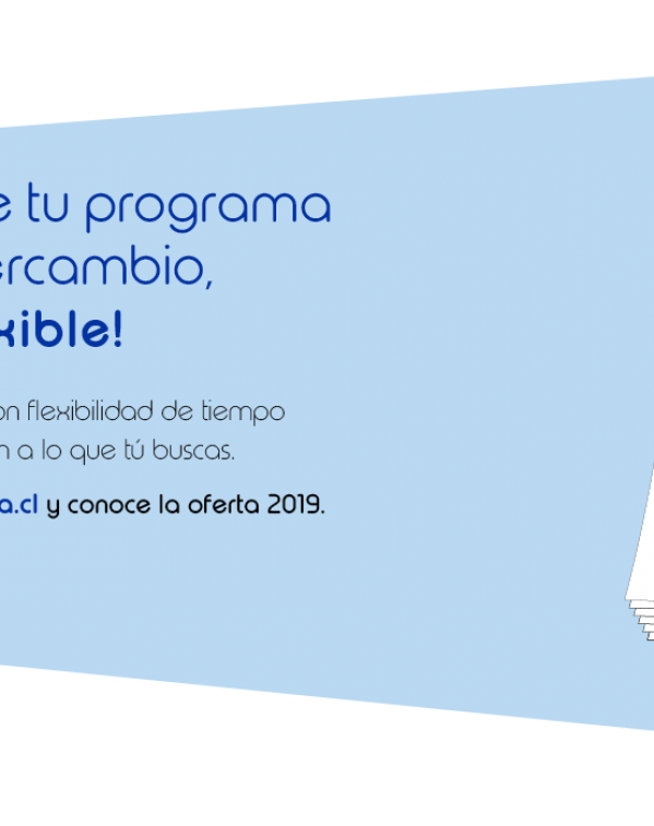 Conoce tu programa  de intercambio, ¡es flexible!